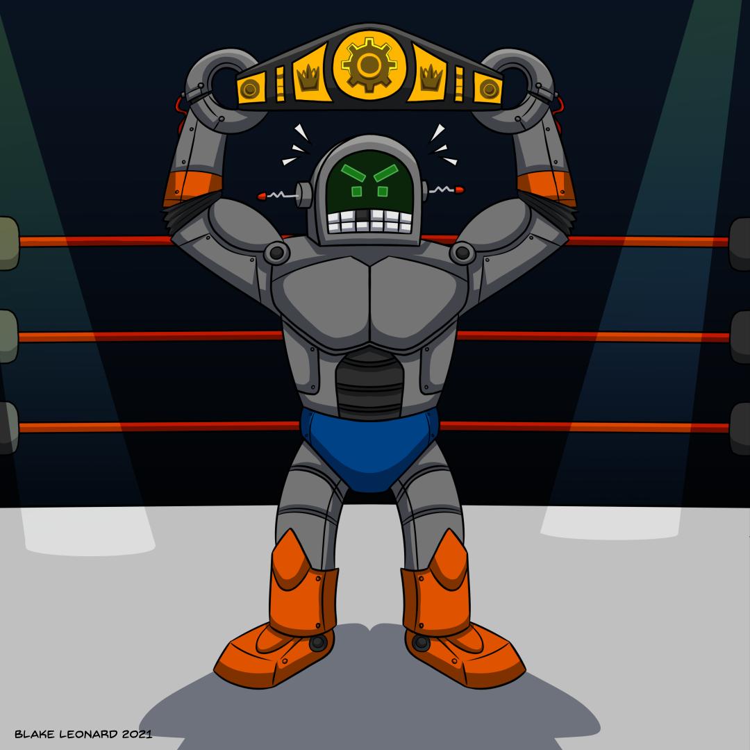Robot Wrestler